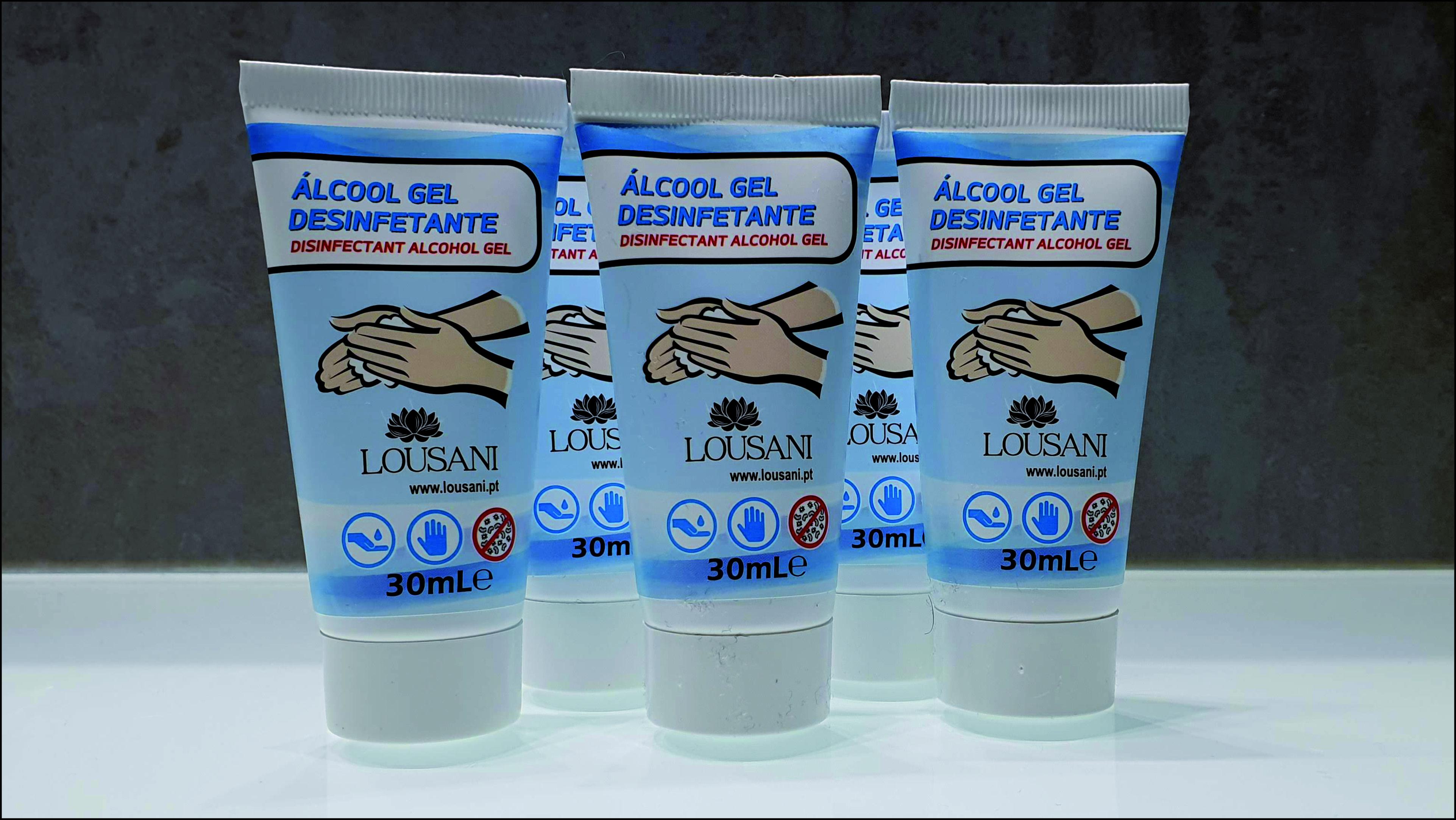 Álcool Gel Desinfetante Bisnaga 30ML