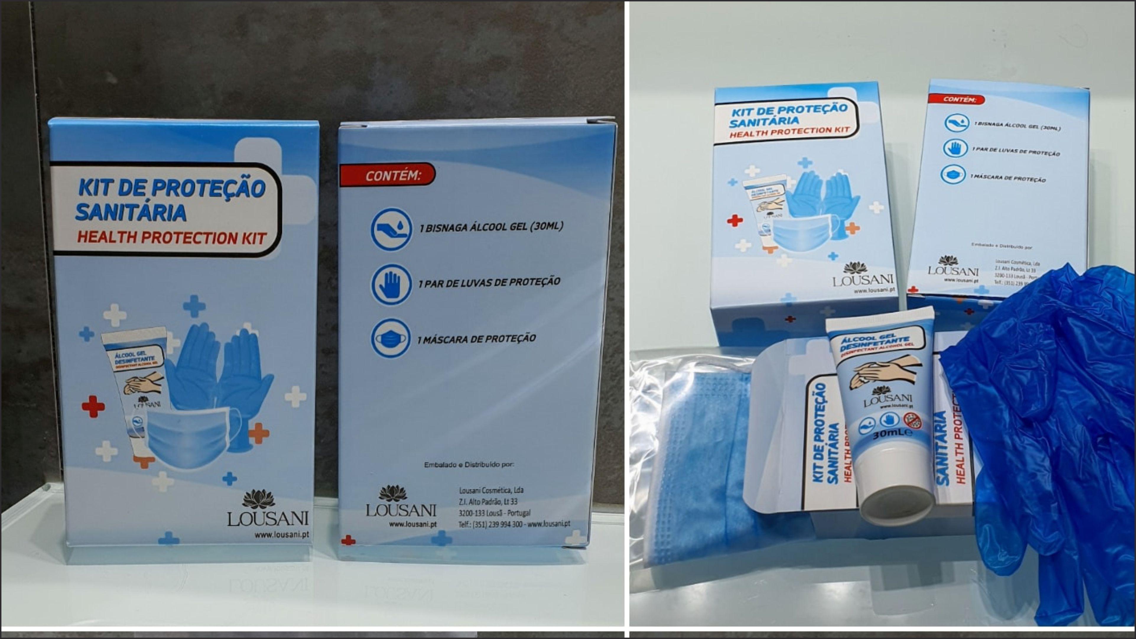 Kit de Proteção Sanitária Cartolina