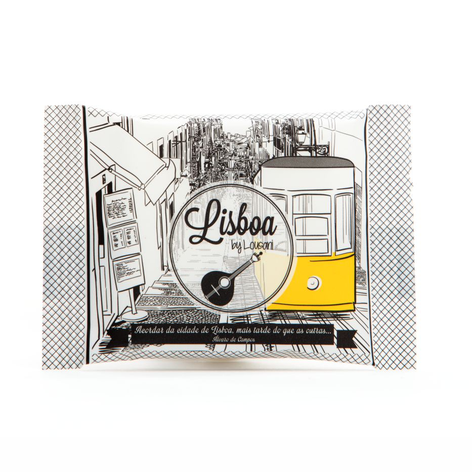 Sabonete Quadrado 20 grs - Linha Lisboa