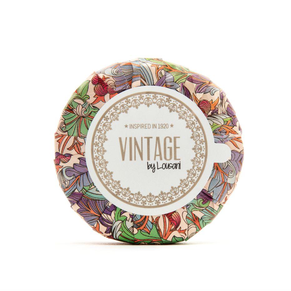 Sabonete redondo floral - Vintage